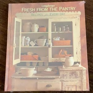 "New  Longaberger  ""Fresh From the Pantry"" book"
